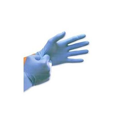 Rękawice diagnostyczne nitrylowe, niejałowe, bezpudrowe, teksturowane, niebieskie GREAT GLOVE