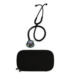 Stetoskop Littmann Classic III Rainbow edition czarny z dedydowanym etui
