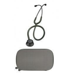 Stetoskop Littmann Classic III SMOKE FINISH - OLIVE z dedykowanym etui