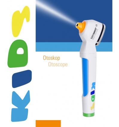 Otoskop Pediatryczny LuxaScope Auris LED-RING - zasilanie bateryjne