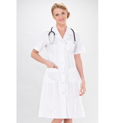 8afee5d0aa Sukienka medyczna Adela krótki rękaw - SKLEP DLA LEKARZA