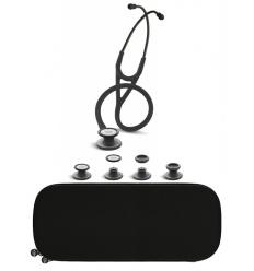 Stetoskop Kardiologiczno-Pediatryczny SPIRIT CK-SS757CPF Black Edition z dedykowanym etui