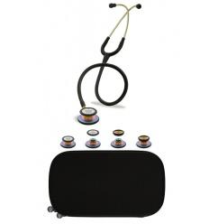 Stetoskop Internistyczno-Pediatryczny SPIRIT CK-SS601PF/R Rainbow Edition w pakiecie wraz z dedykowanym etui do stetoskopu
