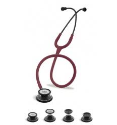 Stetoskop Internistyczno-Pediatryczny SPIRIT CK-SS601CPF Black Edition wszystko w jednym z bordowym drenem