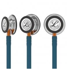 Stetoskop Littmann Classic III błękit karaibski MIRROR FINISH (pomarańczowy STEM)