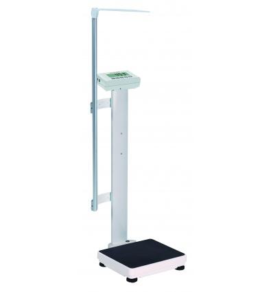Elektroniczna waga medyczna Charder MS 4971 z BMI i BSA, na kółkach + wzrostomierz teleskopowy