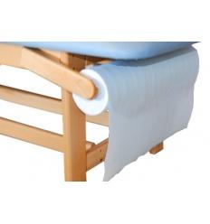 Wieszak na podkład celulozowy do kozetek - leżanek drewnianych