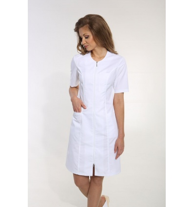 Sukienka SU 17.2-1.0 rękaw długi (odzież medyczna)