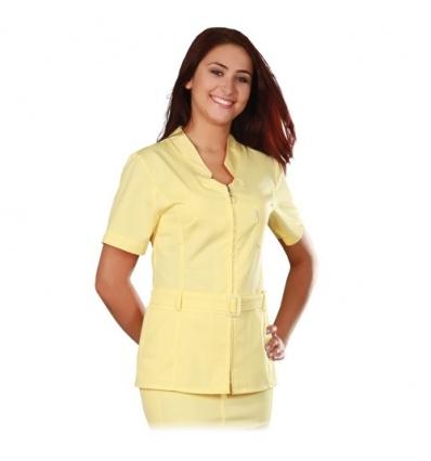 Bluza medyczna Blanca długi rękaw