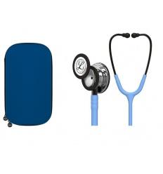 Stetoskop Littmann Classic III jasnoniebieski MIRROR FINISH (smoke STEM) z dedykowanym etui